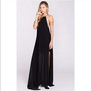 Show Me Your MuMu Bronte Sheer Maxi Dress